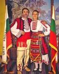 Н. Григоров и знаменоската Деница